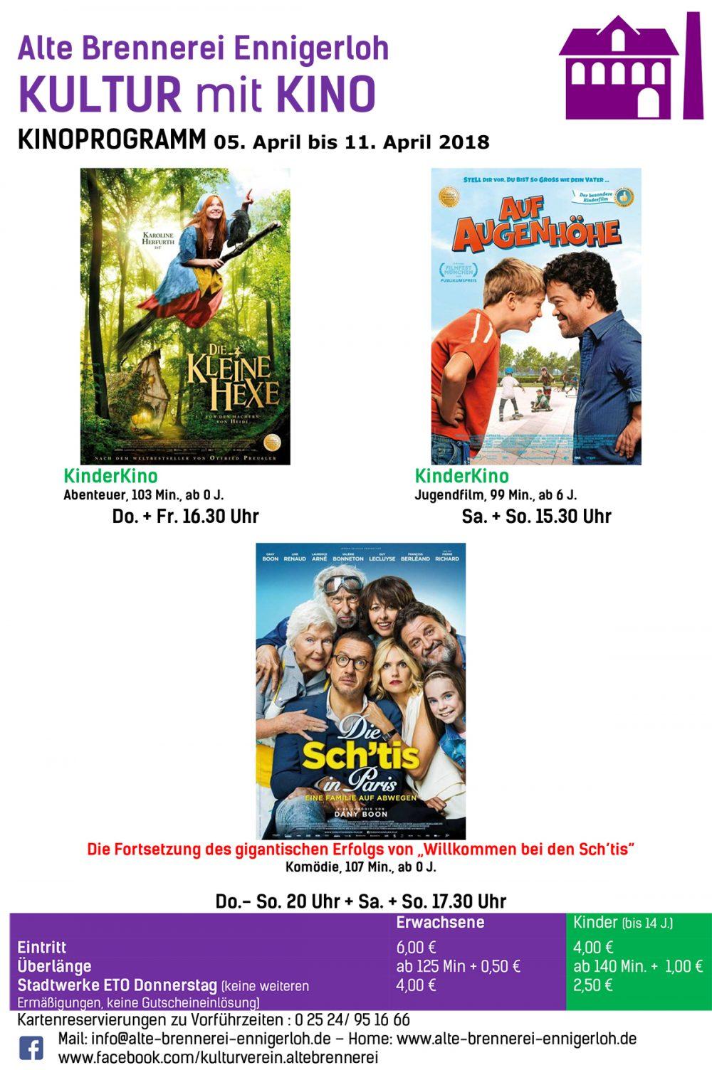 Kinoprogramm April
