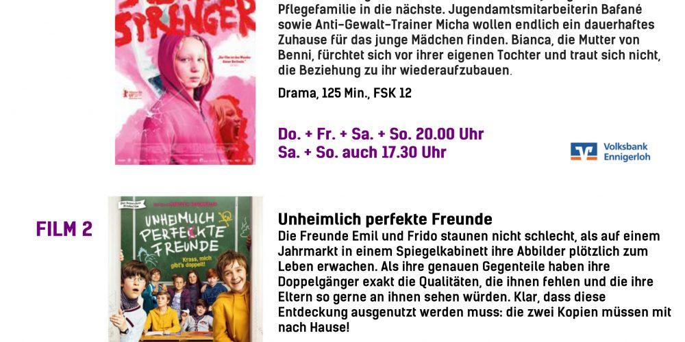 Kinoprogramm 03.10.-09.10.2019