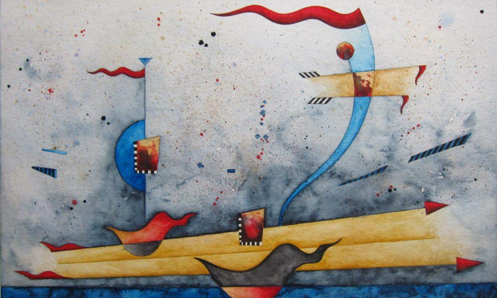 L.B. Bohle zeigt Papier-Arbeiten von Wolfgang Steinberg