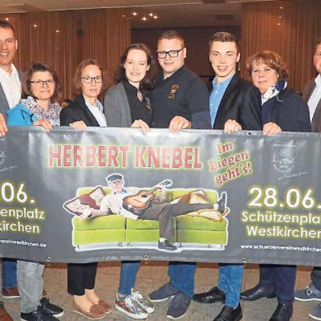 """Herbert Knebel """"Im liegen geht's!"""""""