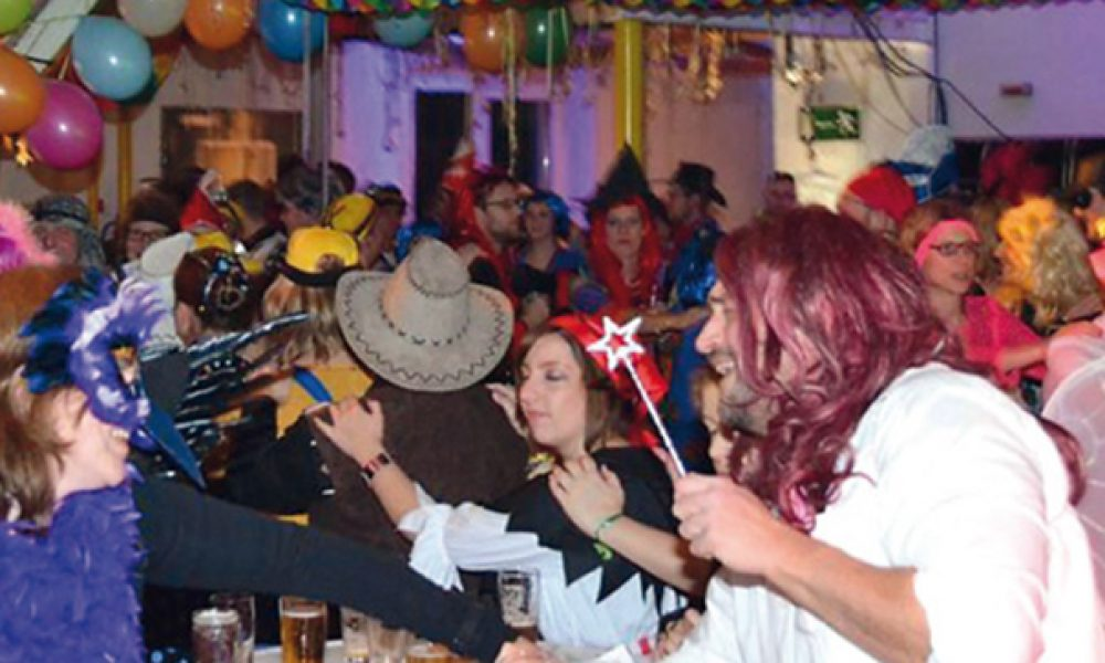 "Am 11. Februar 2017 wiederholt sich ""Karneval meets Party"" in Westkirchen"