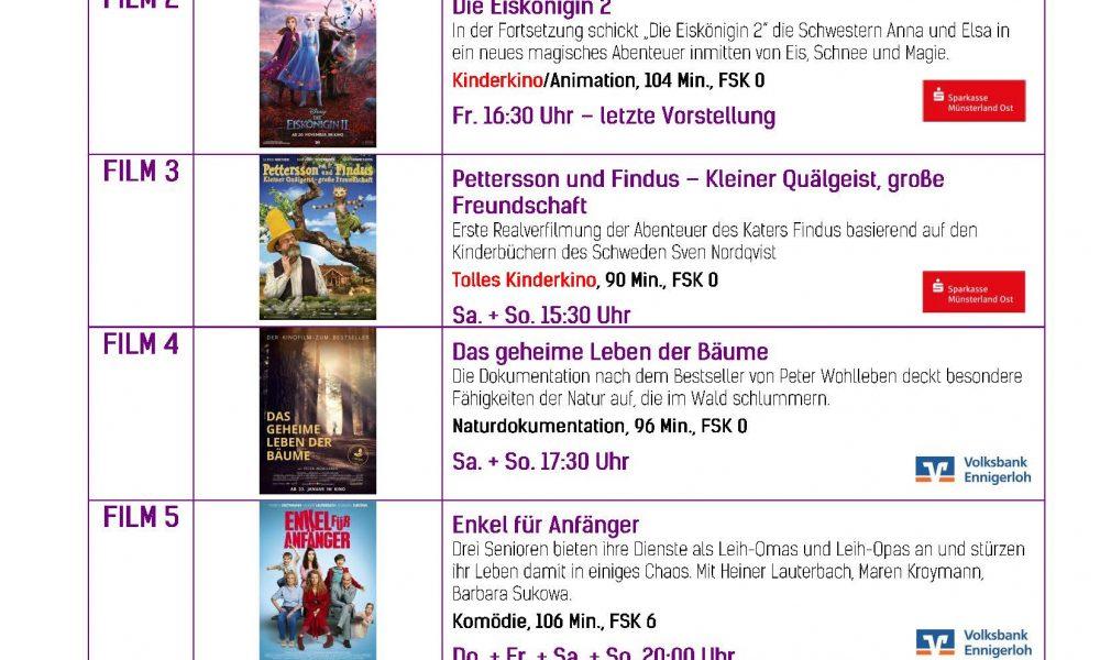 Kinoprogramm 12.03.-18.03.2020