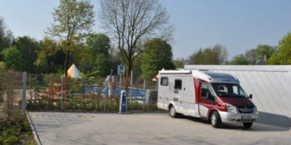 Wohnmobilstellplatz Am Stavernbusch derzeit nicht nutzbar