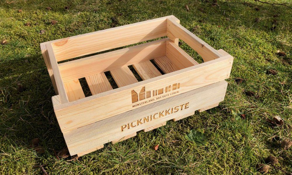 Neu beim Stadtmarketing: Die Münsterländer Picknickkiste