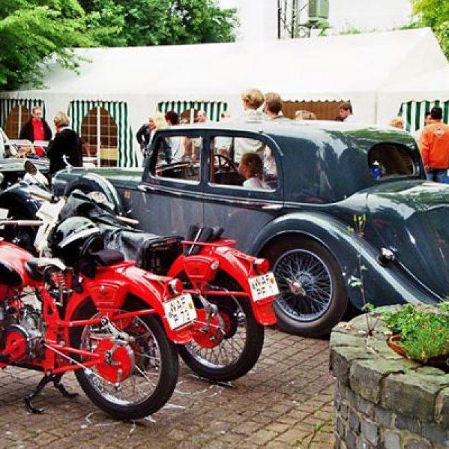 Stadtmarketing präsentiert sich bei der 13. Oldtimer Rallye