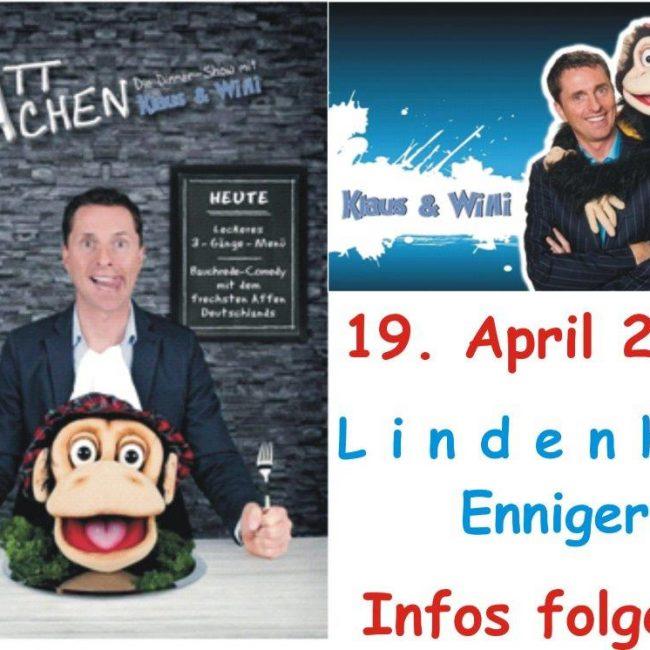 """Klaus und Willi mit ihrem Programm """"SattLachen"""" am 19.04.2020"""