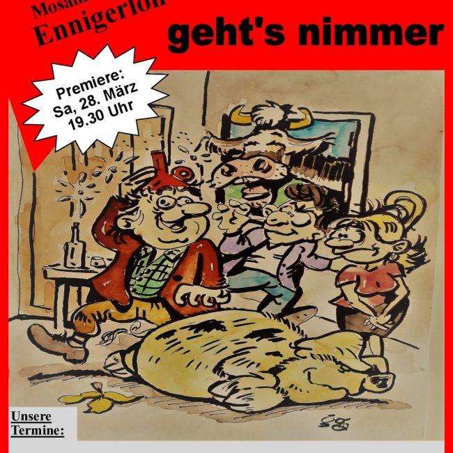 """Kolping Theater Ennigerloh – ,,Dümmer geht's nimmer"""""""