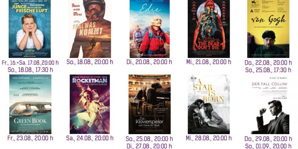 Sommer-Film-Festival Programm vom 15.08. – 21.08.