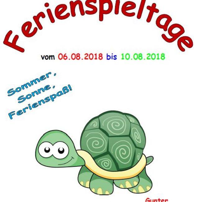 DRK Ferienspieltage 6.-10.8.2018