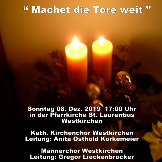 Weihnachtskonzert Westkirchen