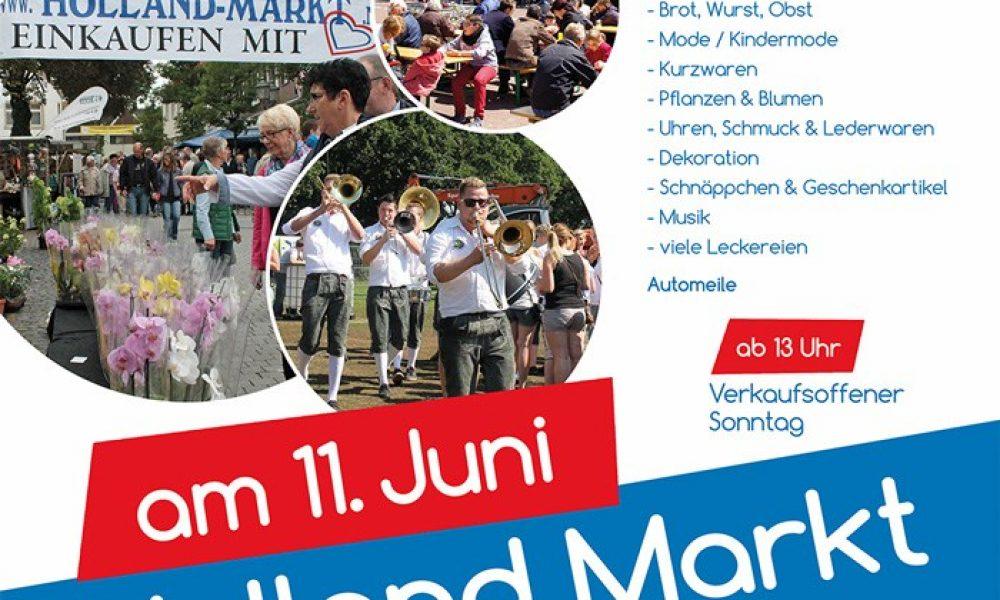 4. Familien-Fest Schnapphahn lädt zum Holland-Markt ein